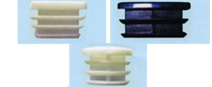 アルミ一般形材用キャップ(樹脂/アルミ)